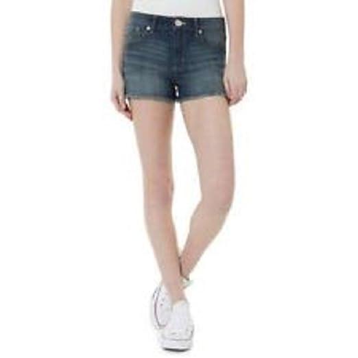 19a147116221 G21 Juniors High Rise Denim Shorts, Medium Denim, 11 at Amazon ...