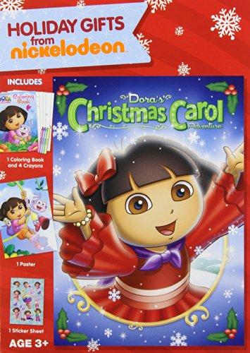 DVD : Dora The Explorer: Dora's Christmas Carol Adventure (Gift Set, Full Frame, Dubbed)