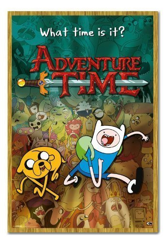 amazon com iposters adventure time collage poster magnetic notice