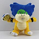 """Gooband?Super Mario Bros Ludwig Von Koopa with Blue Turtle Shell Browser 8"""" Anime Animal Stuffed Plush Toys by GOOBNAD"""