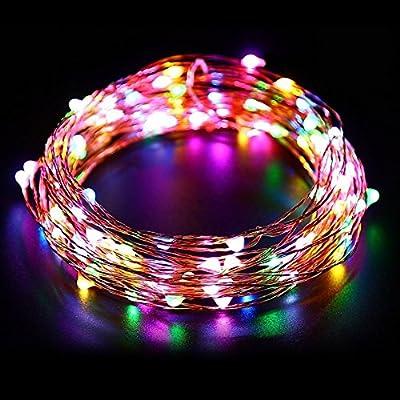 LEDGLE Solar String Lights
