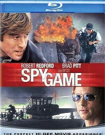 Amazon Com Spy Game Blu Ray Robert Redford Brad Pitt Catherine Mccormack Tony Scott Douglas Wick Marc Abraham Michael Frost Beckner David Arata Movies Tv