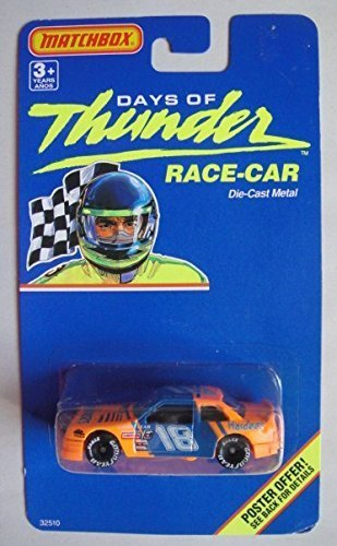 matchbox-days-of-thunder-race-car-18-hardees-die-cast