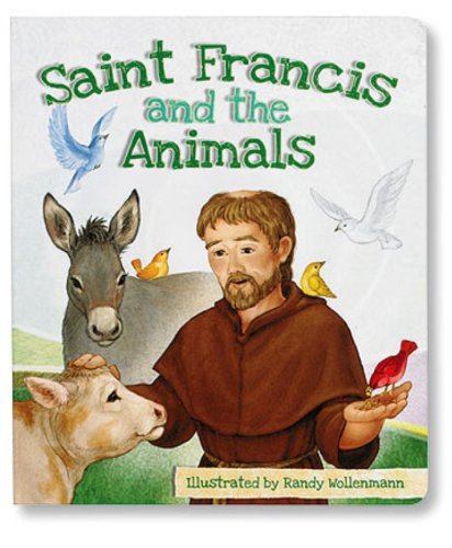 Saint Francis and the Animals Children's Board Book, Pack of 6