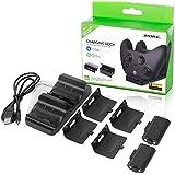 Cargador para Baterias de Controles Xbox serie X/S , Xbox One S /X - 2 Baterias recargables compatibles con las 2 Generacione