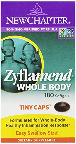 New Chapter Zyflamend Tiny Caps, 180 Softgels (Pack of 3)