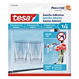 Tesa 77735 – 00001 – 00 Adhesive Hook for Clear Surfaces and Glass (1 kg)