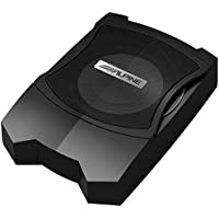 Alpine PWE-V80 Car 8 Powered Enclosed Subwoofer UNDERSEAT SUBWOOFER PWEV80
