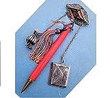 DOLL SIZE CHATELAINE Silver Filigree Topaz Brooch, Sterling Envelope Stamp Case, Silver Tone Vinaigrette, Celluloid Mechanical Pencil , all $229.90