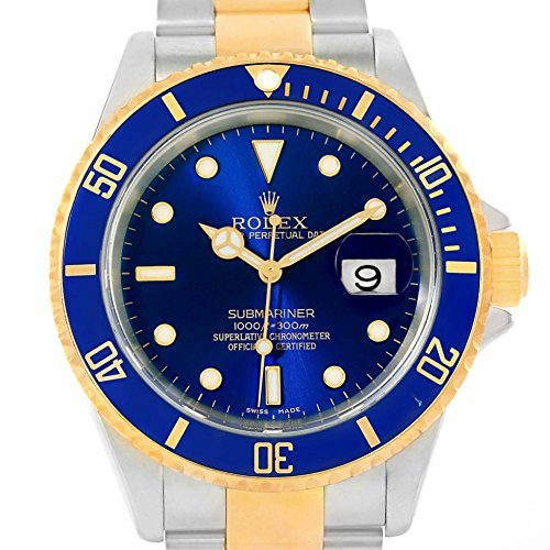 Rolex Submariner automatic-self-wind womens Watch 16613 (Certified Pre-owned) by Rolex