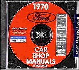 1970 ford mustang repair shop service manual cd mustang mustng rh amazon com Mustang Owners Manual 1970 mustang service manual