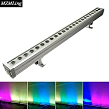 24*4w RGBW 4-In-1 Waterproof Led Wall Wash Light DMX512 Washer Led Outdoor /Flood Light DJ /Bar /Party /Show /Stage Light
