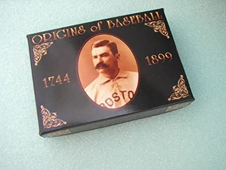 Amazoncom Origins Of Baseball 1744 1899 Collector Cards