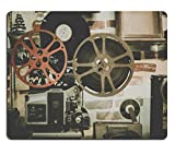 MSD Mousepad Free stock photo Movie Reel Projector Film Natural Rubber Material Image 918655