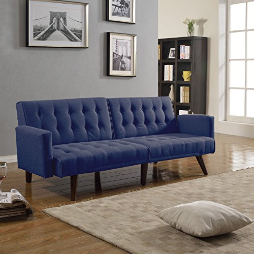 modern-convertible-linen-futon-tufted-sofa-bed-splitback-convertible
