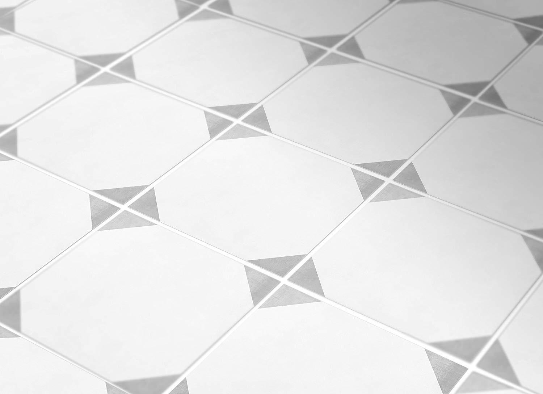 MoonStickers Fliesenaufkleber Decals - Packung mit 10 Fliesenaufkleber - 10 10 10 Einzelne Fliesen - Fliesenaufkleber (Fußboden - 33 x 33 cm, grau and Weiß Portuguese Fliesenaufkleber) B07JM7XKKR Wandtattoos & Wandbilder 4facbd