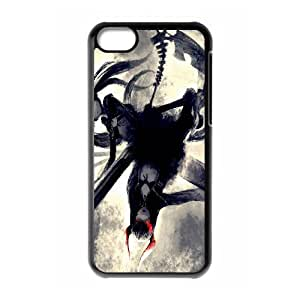 Printed Phone Case Black Rock Shooter For iPhone 5C Q5A2113244