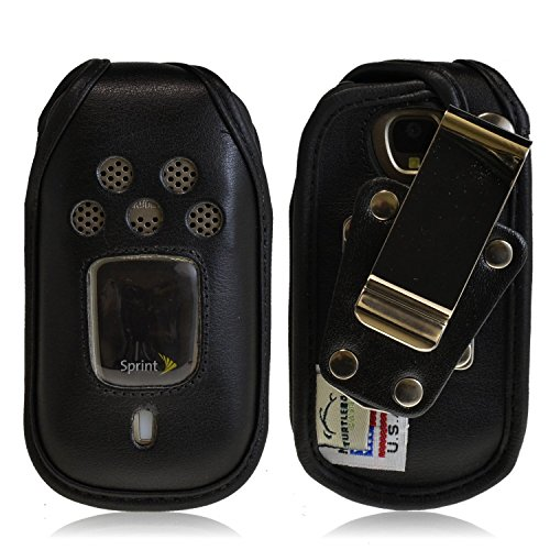 - Kyocera DuraPro Turtleback HD Leather Case
