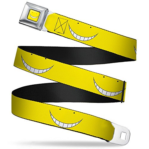Korosensei Face Close-up Yellow Seatbelt Belt