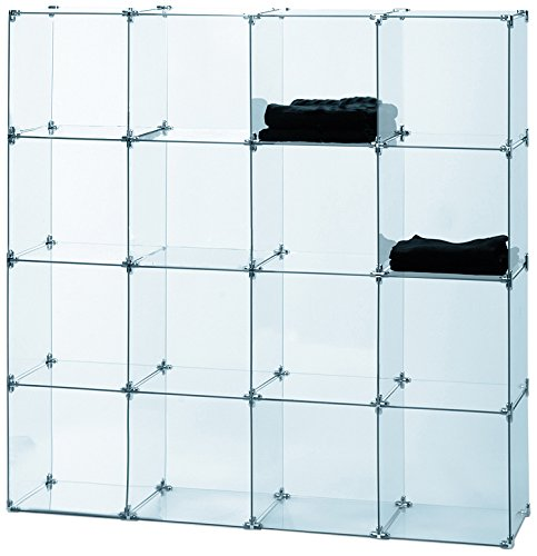 Econoco Tempered Glass for Cubbies (Pack of 10) - Glass Display Showcase