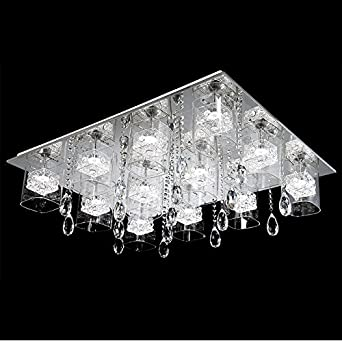 winson Moderne und Minimalistische Kristall Lampe rechteckige LED ...