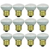Sunlite 40R14/FL/12PK Incandescent  40W R14 Mini-Reflector Light Bulbs