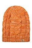 BASICO Unisex Warm Chunky Soft Stretch Cable Knit Beanie Cap Hat (102 BB Mustard Yellow)