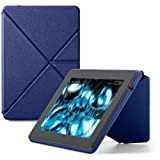 "Amazon Kindle Fire HD Standing Leather Origami Case (will only fit All New Kindle Fire HD 7""), Blue"