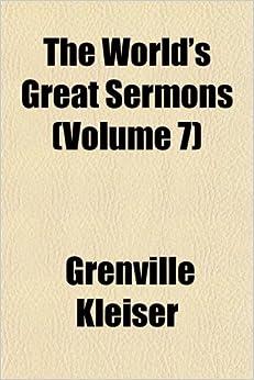 Book The World's Great Sermons (Volume 7)