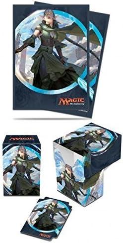 BUNDLE: Magic: the Gathering - Kaladesh - Nissa, Vital Force (Deck Box & 80 Sleeves) by Magic: the Gathering: Amazon.es: Juguetes y juegos