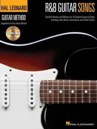 R&B Guitar Songs: Hal Leonard Guitar Method Songbooks