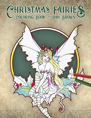 (Christmas Fairies Coloring Book)