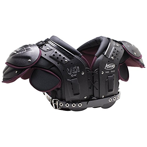 Quarterback Shoulder Pads - ADAMS USA VS500 Varsity Skill Football Shoulder Pads, Small