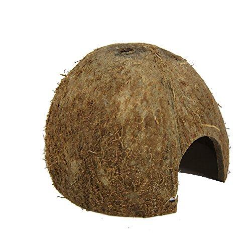 JBL Kokosnuss-Schale als Höhle für Aquarien und Terrarien, Cocos Cava 1/2  M, 61511