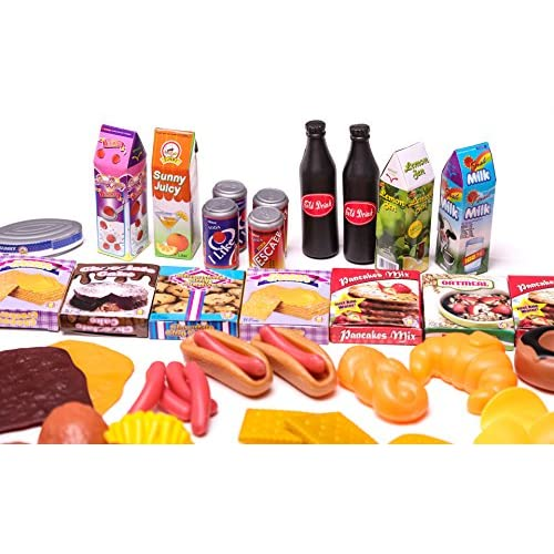 e35d83ad5 Giant 150 Pc. Great Big Grocery - Ultimate Kids Play Food Set lovely ...