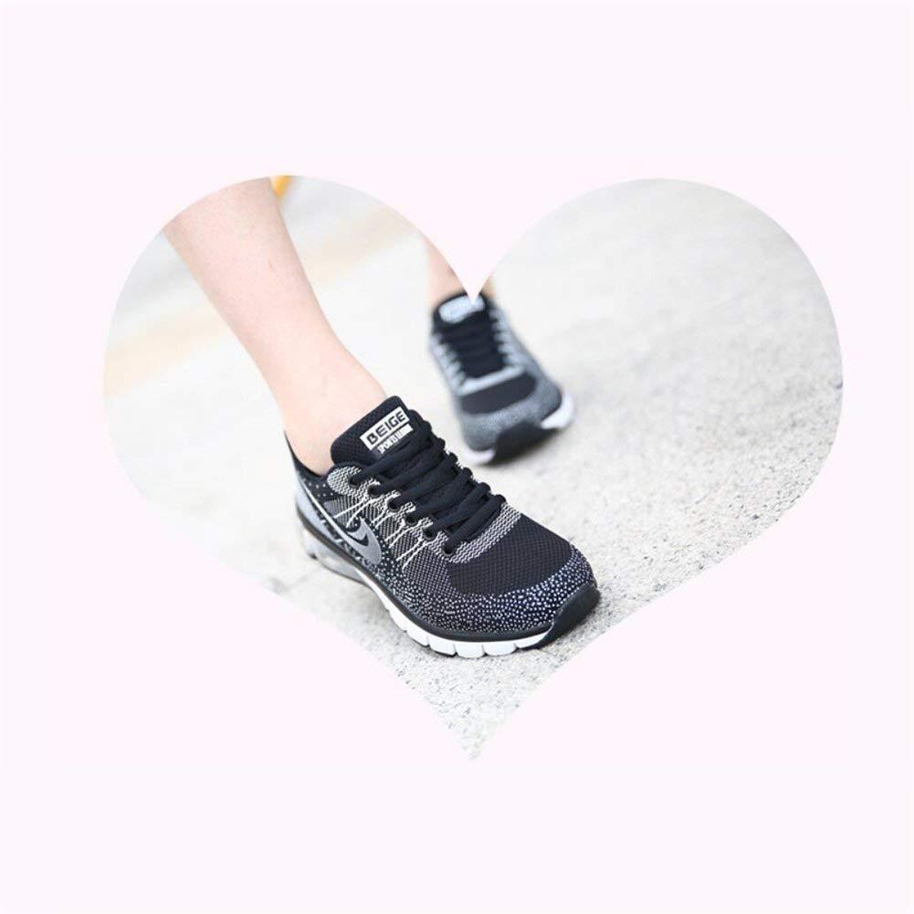 Herren Turnschuhe Laufschuhe Mode Luftpolster Freizeitschuhe Dämpfung Atmungsaktive Sportschuhe Sportschuhe Sportschuhe Mesh Rutschfeste Schuhe Wandern (Farbe   EIN Größe   40) (Farbe   C Größe   39) b1b81b