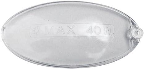 Lámpara de techo ovalada Difusor Luz Campana mm 100 x 55 Faber 1 pieza No Original: Amazon.es: Hogar