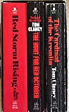 Tom Clancy - 3 Book Boxed Set - The Hunt for Red October - Red Storm Rising - The Cardinal of the Kremlin