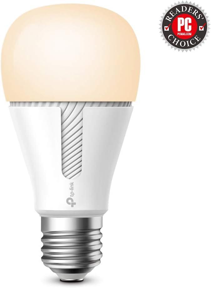 TP-Link - Bombilla Inteligente LED, Bombilla WiFi sin Necesidad de hub, Luz Blanca Cálida Regulable, Compatible con Amazon Alexa y...