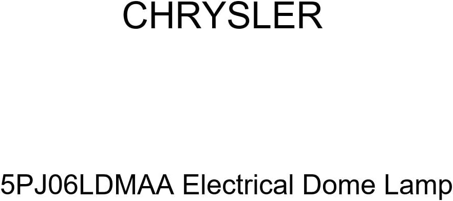 Genuine Chrysler 5PJ06LDMAA Electrical Dome Lamp