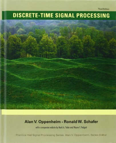 Discrete Time Signal Processing 3rd Edition Prentice Hall Signal Processing Series