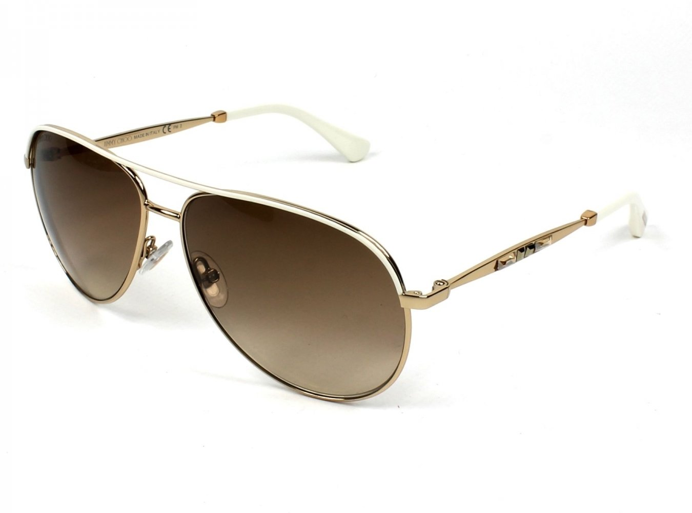 Jimmy Choo Jewly/s Gold Sunglasses by Gucci