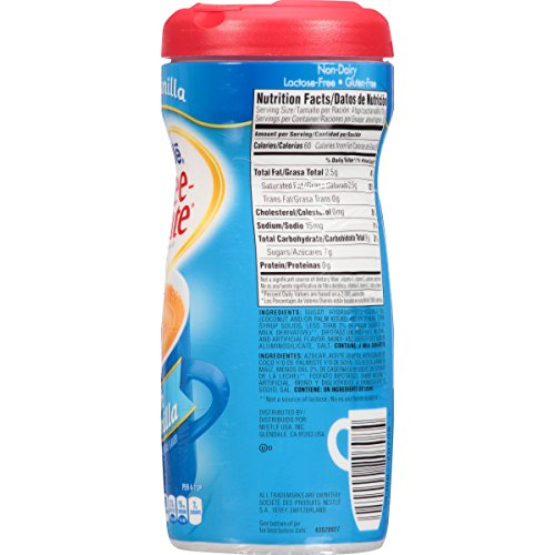 Nestle Coffee-mate Coffee Creamer, French Vanilla, 15oz powder creamer - Pack of 36 by Nestle Coffee Mate (Image #3)