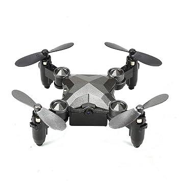 LECC Mini Drone Plegable, Reloj Estilo Control Remoto Quadcopter ...