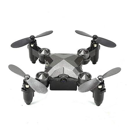LECC Mini Dron Plegable, Estilo de Reloj, cámara de Control Remoto ...