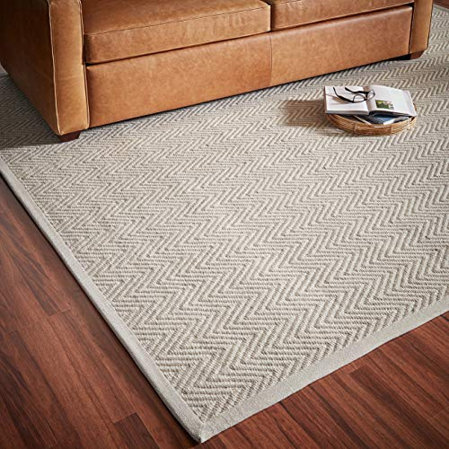 Rivet Elevated Chevron Patterned Area Rug, 9