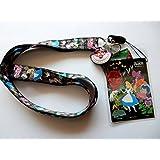 Disney Alice in Wonderland Lanyard with Soft Dangle & Card Holder