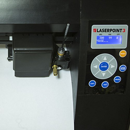 USCutter New 28'' LaserPoint 3 (LP3) Vinyl Cutter with ARMS Contour Cutting, Stand and Basket by USCutter (Image #3)