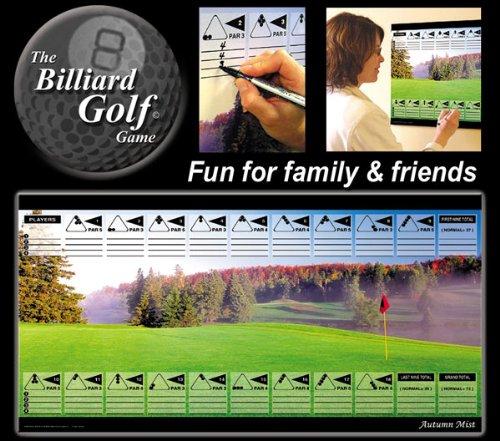 Juego de golf de billar