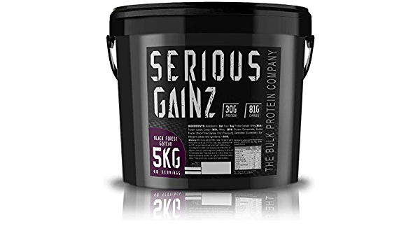 The Bulk Protein Company 5 kg Black Forest Gateau Serious ...